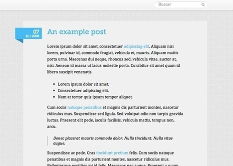 Top 100 Free Tumblr Themes Of 2013   Tumblr Themes   Scoop.it