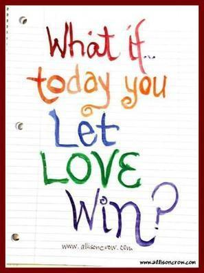 What If Today, You Let Love Win? | Owning Pink | Share Some Love Today | Scoop.it