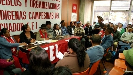 Ecuador's Indigenous Groups Question Call for 'Uprising' | Global politics | Scoop.it