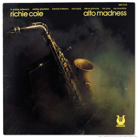 Richie Cole: Alto Madness (1975) Muse | Jazz Plus | Scoop.it