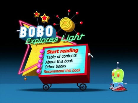 iPhone/iPad Book App Review Bobo Explores Light | Publishing Digital Book Apps for Kids | Scoop.it