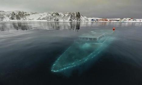 Twitter / ajetsetgirl: I think the sunken yacht in ...   DiverSync   Scoop.it
