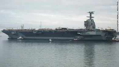 U.S. Navy's new $13B aircraft carrier can't fight | Xposing Government Corruption in all it's forms | Scoop.it