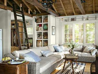 Tendance et naturelle : Lake House Decorating Ideas   Décoration_PlusDeCoton   Scoop.it