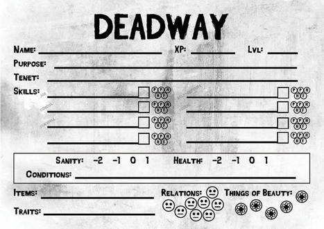Deadway - A Language Learning Role-Play Game | Ever Growing | Scoop.it