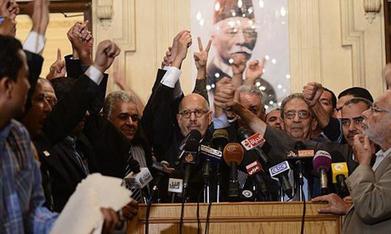 Dissensions au sein du Front du Salut National, avant la campagne électorale | Égypt-actus | Scoop.it