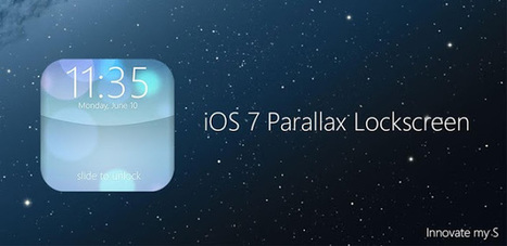 iOS 7 Lockscreen Parallax HD v2.6.1 APK Free Download | ios 7 | Scoop.it