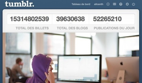 Journalisme et Tumblr, le réseau qui monte qui monte | Le Microbloging en 3.0 ! | Scoop.it