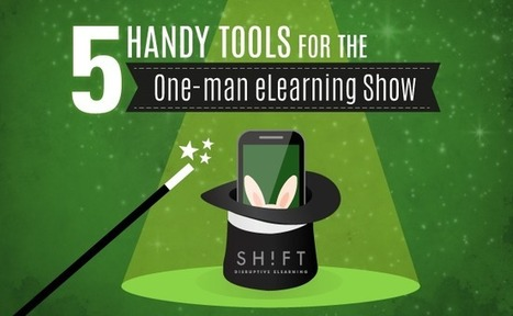 5 Handy Tools for the One-man eLearning Show | APRENDIZAJE | Scoop.it