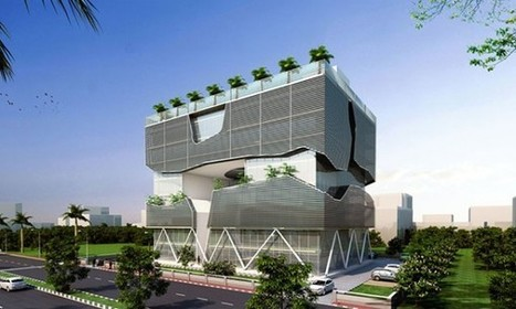 Lucknow Headquarters: A Sustainable Building with Passive Systems | sustainable architecture | Scoop.it