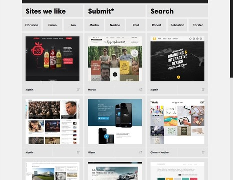 Sites we like   SITES TRÈS CREATIFS   Scoop.it