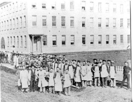 Chinese Workers Arrive  in 1870 to Work in Shoe Factory in North Adams, Massachusetts | Chinese American history | Scoop.it