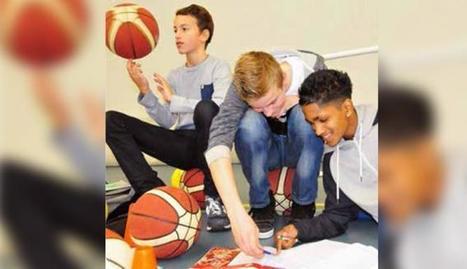 Leer hoofdsteden tijdens trampolinespringen: sporten en bewegen op nieuwe ... - Omroep West   Bewegingsonderwijs   Scoop.it