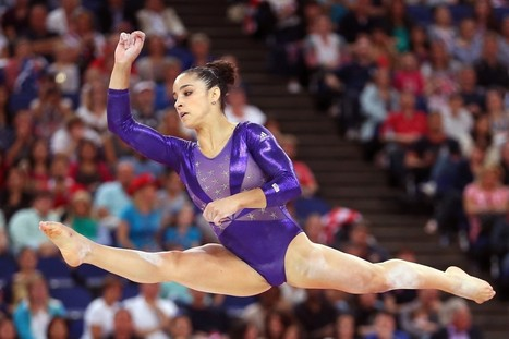 Female Gymnasts Used To Be Fantastic Dancers. How Did the Floor Exercise Get So Graceless? | Aspect 1 Changes in Gymnastics | Scoop.it
