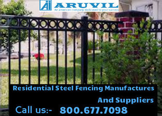 Did you know why you should invest in Ornamental Aluminum Fences? | Aruvil International Inc | Scoop.it