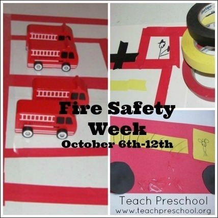 Fire safety week in preschool | Teach Preschool | Teach Preschool | Scoop.it