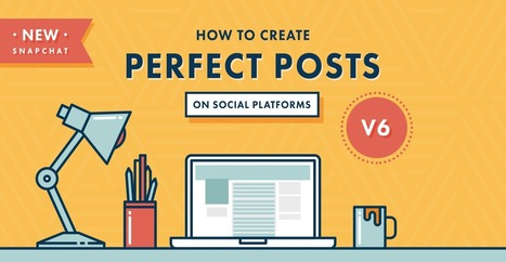 How To Create Perfect Posts on Social Platforms [Infographic] | Social Media Latest Trends | Scoop.it