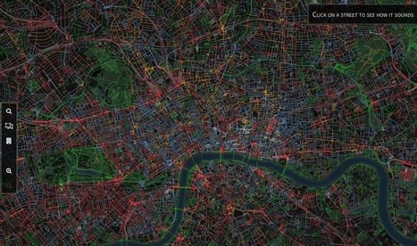 These online maps let you find the quietest spots in big cities | Urbanisme | Scoop.it