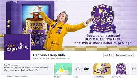 How Cadbury uses Facebook, Twitter, Pinterest and Google+ | Small Business Marketing | Scoop.it
