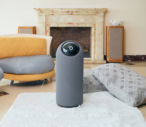 BIG-i Social Home Robot Has a Big Eye, Launches on Kickstarter | Robotic applications | Scoop.it