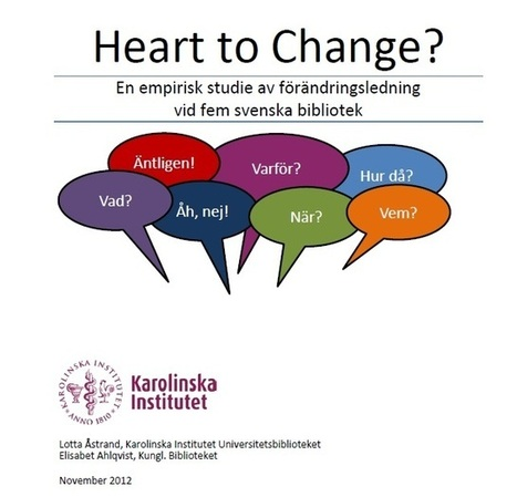 Heart to Change | Bibliotek och bibliotekarierollen | Scoop.it