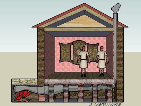 Un plancher chauffant utilisé jadis par les romains revient dans les couloirs du temps, l'Hypocauste | Ressources pour la Technologie au College | Scoop.it
