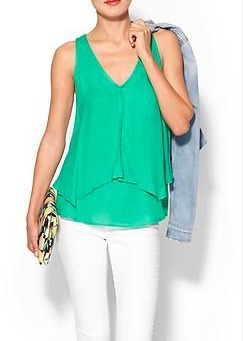 Tiered tank - fresh and flirty! | Village Boutique | Scoop.it