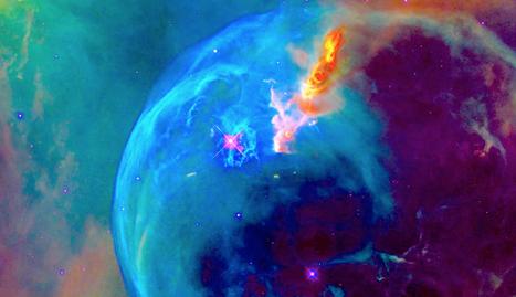 Hubble nous offre une magnifique vidéo de la nébuleuse de la bulle pour ses 26 ans   Thierry's TechNews   Scoop.it