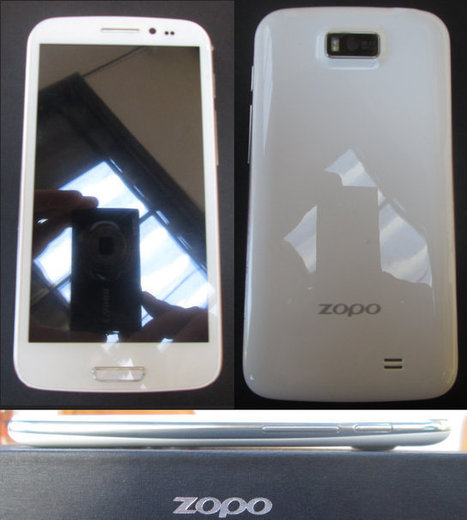 ZOPO ZP900S Leader Smartphone Unboxing and Review | Embedded Systems News | Scoop.it