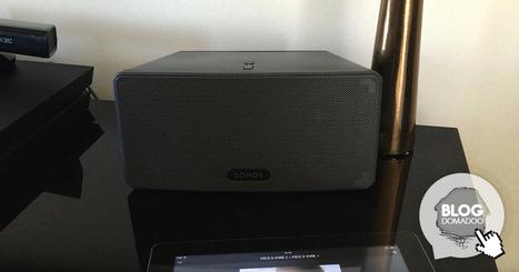 Présentation de l'enceinte Sonos Play 3 et mise en place du Multiroom - News Domotiques by Domadoo   Hightech, domotique, robotique et objets connectés sur le Net   Scoop.it