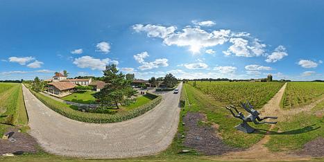 Les Sources de Caudalie à Martillac  -  France par Pascal Moulin Photographe - Panorama 360 x 180° au mât télescopique (hauteur 5 mètres) | moulin360panoramic | Scoop.it