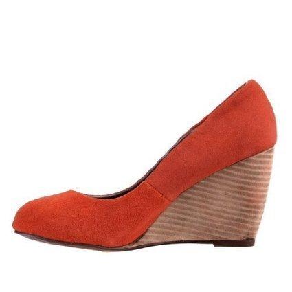 (1)   Damen Schuhe, PUMPS, KEIL WEDGE LEDER HIGH HEELS, G3742, Wildleder, Terrakotta, Gr 41   *****Pumps Günstig Online   Scoop.it