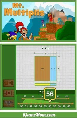 Free App Visually Teaching Kids Math Operation Properties | iGameMom | My Useful Finds... | Scoop.it