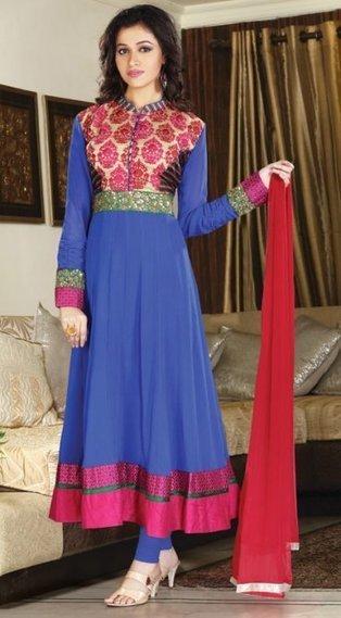 10% OFF - Cotton Silk Bridal Churidar Salwar Kameez OYSK1200 | Designer Salwar Kameez | Party Wear Salwar Kameez | Bollywood Churidar Salwar Kameez | Scoop.it