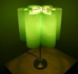 Lámpara hecha con botellas de plástico | Decoracion de Lamparas | lámparas | Scoop.it