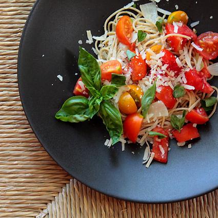 #HealthyRecipe / Fresh Tomato Pasta | Food | Scoop.it