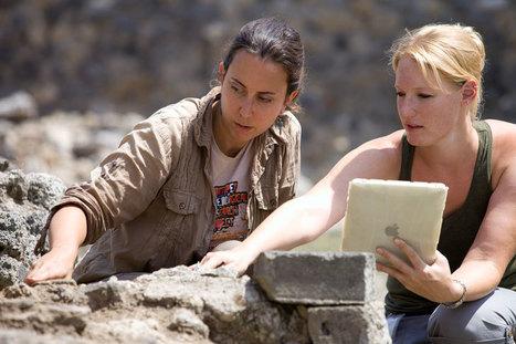 France iPad: Apple fait sa pub avec des archéologues de Pompéi ! | Archéologie et Patrimoine | Scoop.it