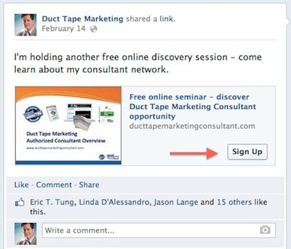 CTAs- Facebook Adds Call to Action Buttons on Page Posts | Social Media + Content | Scoop.it