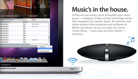 Apple rumored to unveil Wi-Fi free version of AirPlay at Sept. 12 event | New Audio Technology | Scoop.it