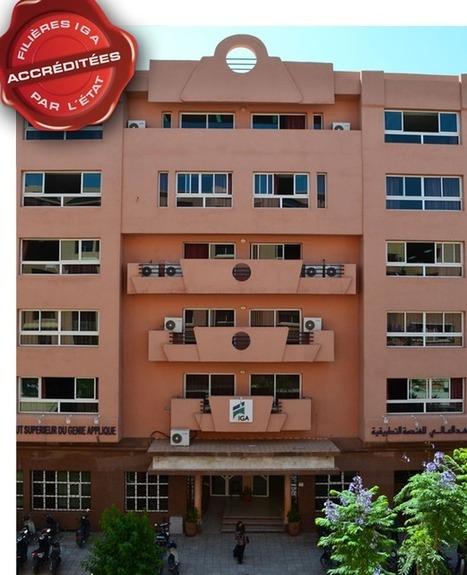Présentation de l'IGA Marrakech | Ecole privé marrakech | ecole supérieure au maroc | Scoop.it