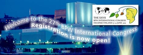 BPW INTERNATIONAL CONGRESS, HELSINKI 2011 | Finland | Scoop.it