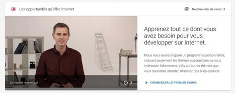 Google France lance un programme gratuit de formation en ligne aux outils numériques | Animation Numérique de Territoire | Scoop.it