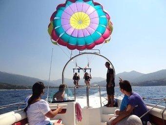 Les sensations d'un vol en parachute ascensionnel - Corse-Matin   Air Corsica   Scoop.it