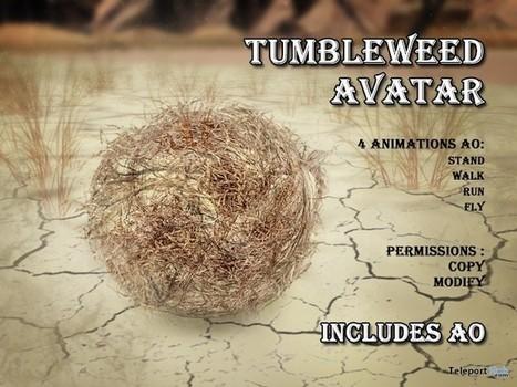 Tumbleweed Complete Avatar by GCO   Teleport Hub - Second Life Freebies   Second Life Freebies   Scoop.it