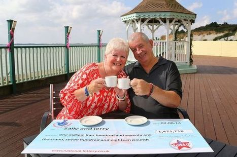 Couple scoop £1.5m Lottery jackpot with forgotten ticket pinned to their notice board | Lottery News | Scoop.it