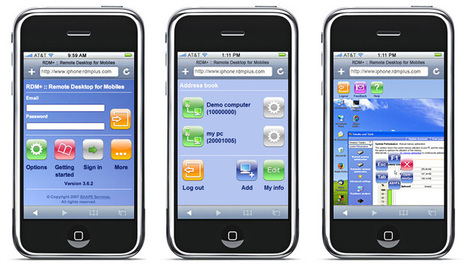 Launching Remote-access apps for iPhones – Try them for Free! | Technology | Scoop.it