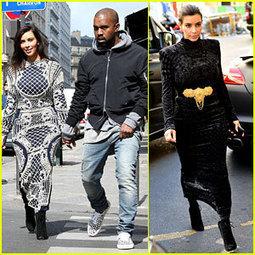 Kim Kardashian Changes Into Two Dresses for Paris Shopping ...   Fashion world   Scoop.it