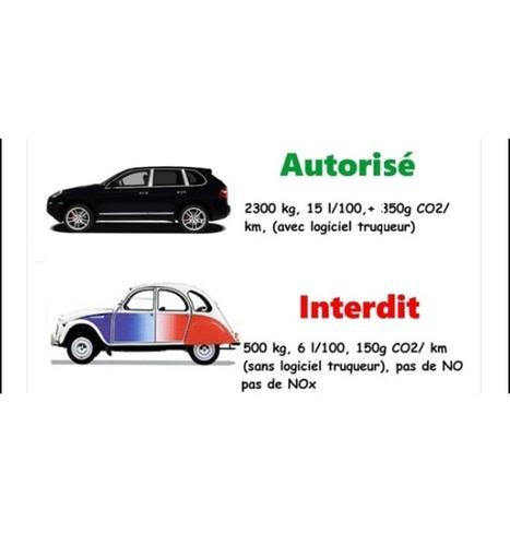 Le Monde - Pollution - Oui, les vieilles voitures interdites à Paris polluent plus que les nouvelles | CAP21 Le Rassemblement Citoyen | Scoop.it