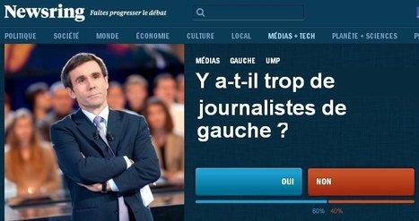 Y a-t-il trop de journalistes de gauche?   DocPresseESJ   Scoop.it