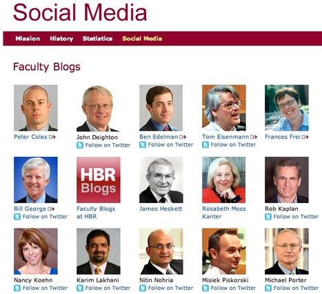 How Harvard Business School Leverages Social Media to Boost Its Brand | Business and Economics: E-Learning and Blended Learning | Scoop.it
